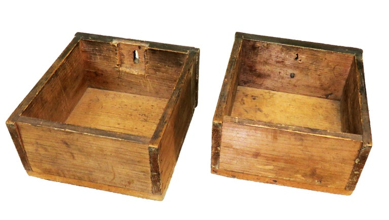 English 19th Century Victorian Painted Pine Miniature Apprentice Chest of Drawers For Sale