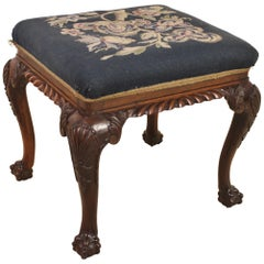 19th Century Victorian Rosewood Stool