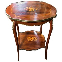 19th Century Victorian Rosewood Table Jas Shoolbred & Co.
