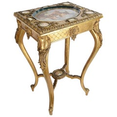 19th Century Vienna Porcelain Mounted Table