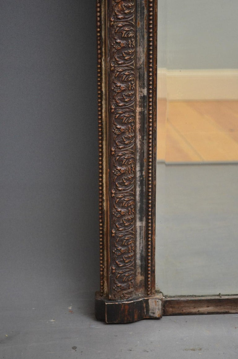 Louis Philippe 19th Century Wall Mirror For Sale