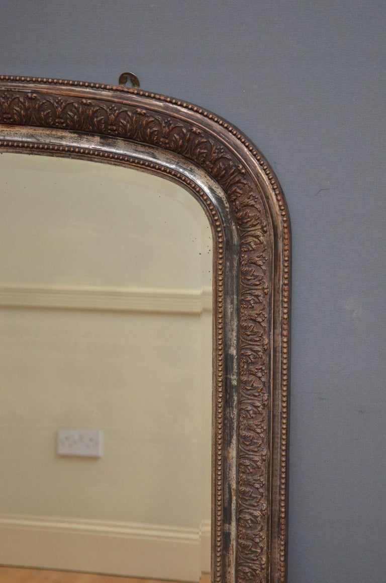 Late 19th Century 19th Century Wall Mirror For Sale