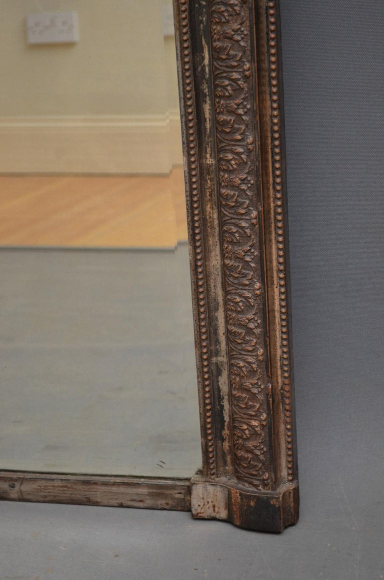 Giltwood 19th Century Wall Mirror For Sale
