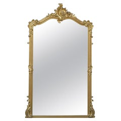 19th Century Wall Mirror or Floor Standing