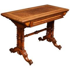 19th Century Walnut Card Table
