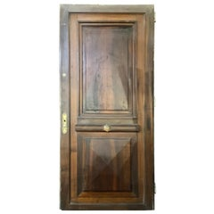 19th Century Walnut Door from France