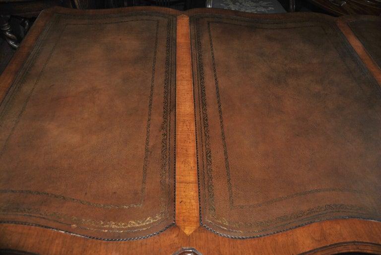 19th Century Walnut Partners Desk For Sale 4