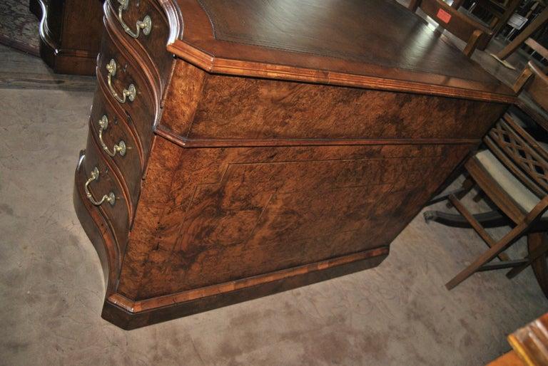 Late 19th Century 19th Century Walnut Partners Desk For Sale