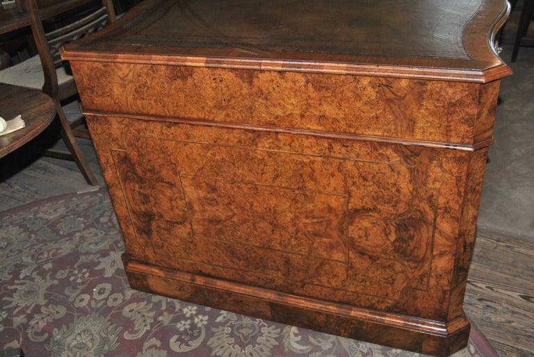 19th Century Walnut Partners Desk For Sale 1