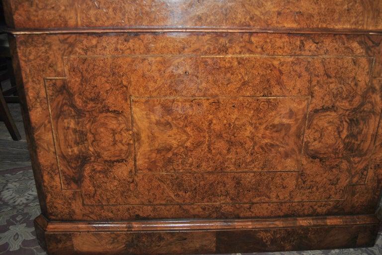19th Century Walnut Partners Desk For Sale 2