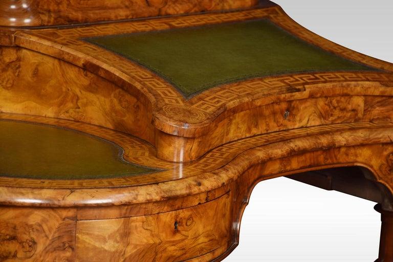 19th Century Walnut Writing Desk For Sale 3