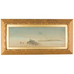 19th Century Watercolour of Egypt by Henry Stanton Lynton