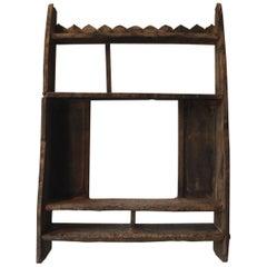 19. Jahrhundert Verwittertes Japanisches Regal/Gestell