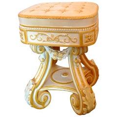 "19th Century Wedgewood ""Rubens"" Garden Seat"