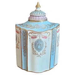 19th Century Wedgewood Tea Caddy