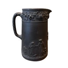 19th Century Wedgwood Basalt Pitcher