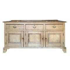 19th Century Welsh Pine Dresser Base, circa 1850
