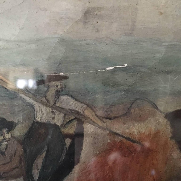 19th Century Whaling Panorama, circa 1890 For Sale 5