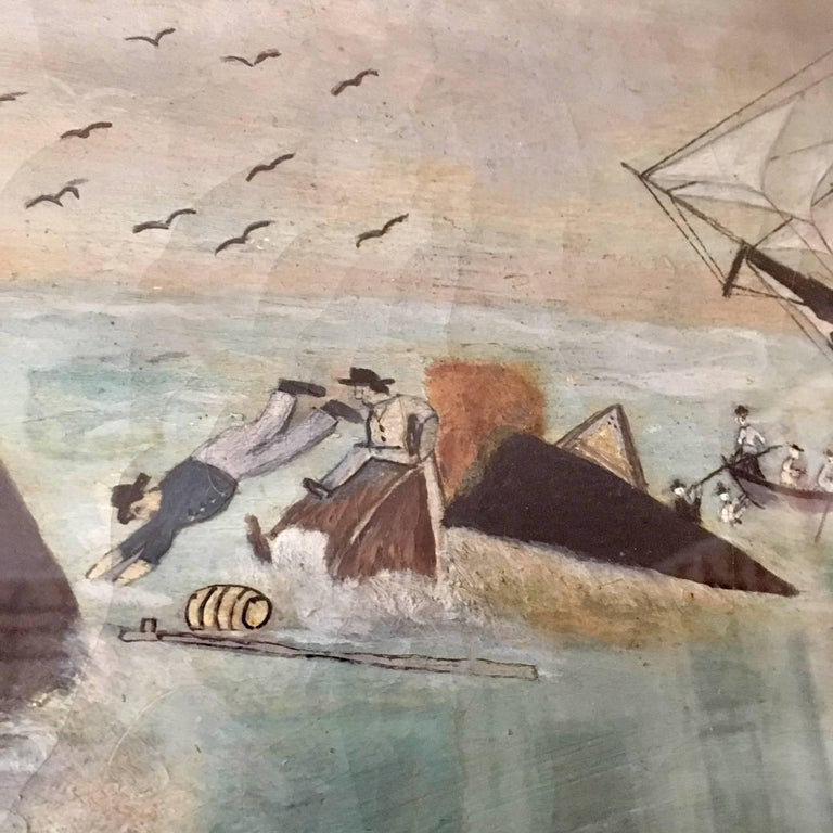 19th Century Whaling Panorama, circa 1890 For Sale 2