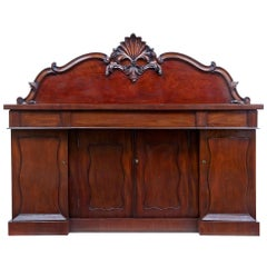 19th Century William IV Mahogany Sideboard