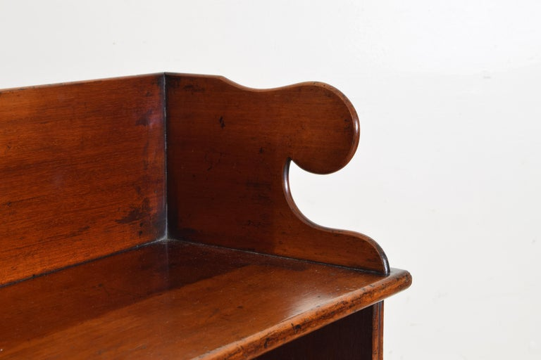 1830s 19th century William IV Rosewood 4 shelf Bookcase