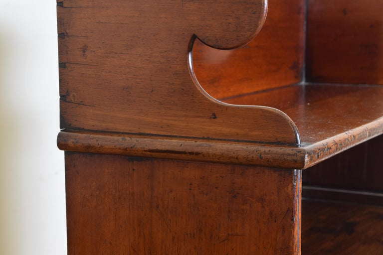 19th century William IV Rosewood 4 shelf Bookcase 1