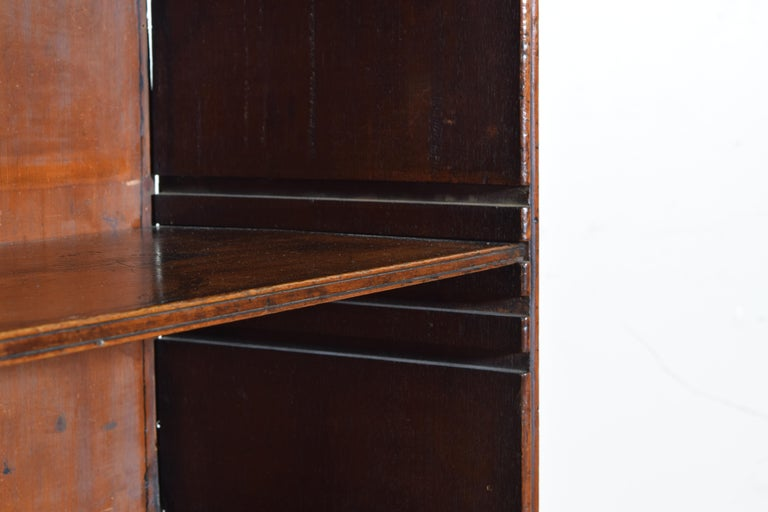 19th century William IV Rosewood 4 shelf Bookcase 2