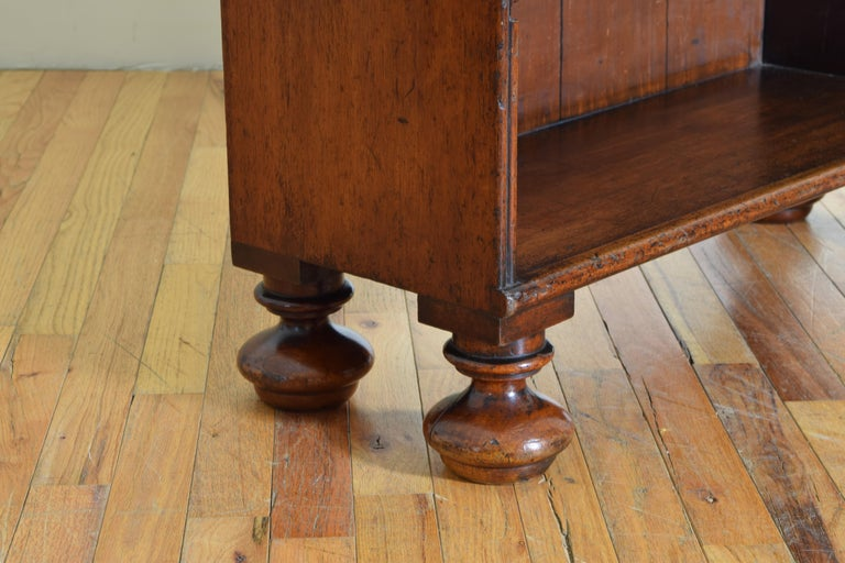 19th century William IV Rosewood 4 shelf Bookcase 3