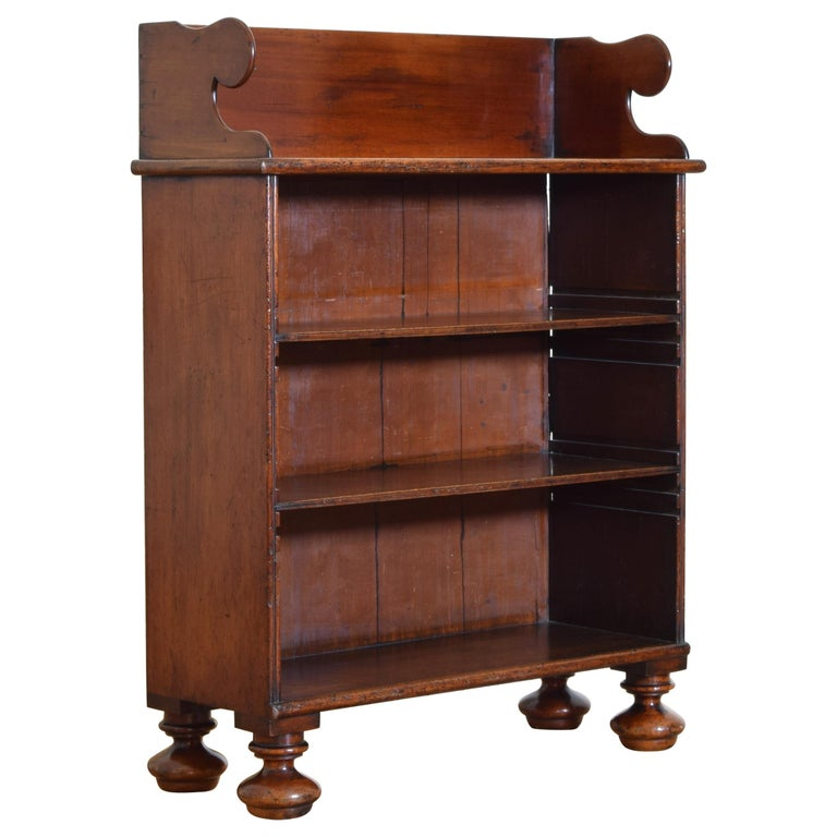 19th century William IV Rosewood 4 shelf Bookcase