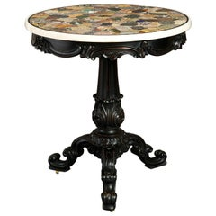 19th Century William IV Specimen Marble Centre Table
