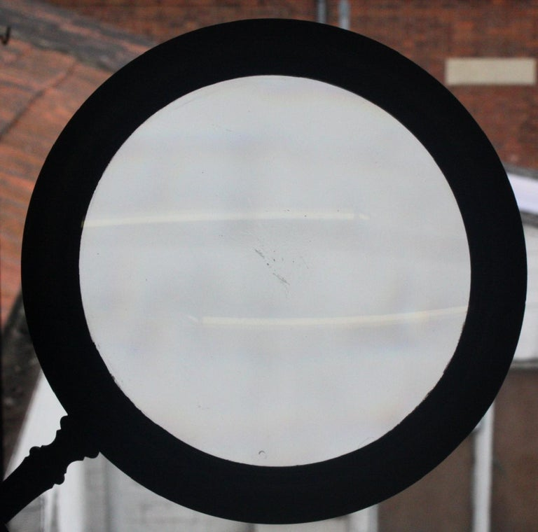 19th Century William the IV Mahogany Connoisseur Gallery Magnifying Lens For Sale 5