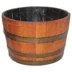 19th Century Wine Barrel / Container for Grapes