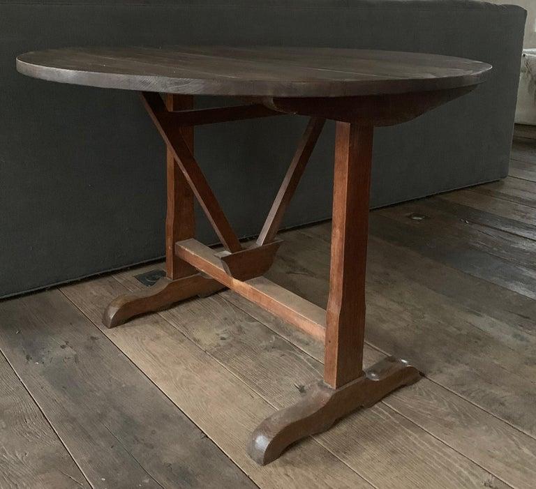 19th Century Wine Table Vigneron For Sale 3