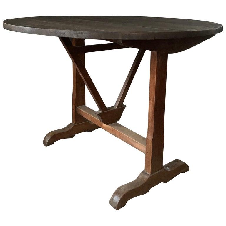 19th Century Wine Table Vigneron For Sale