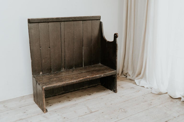 19th Century Wooden Bench, Wales, United Kingdom In Good Condition For Sale In Brecht, BE