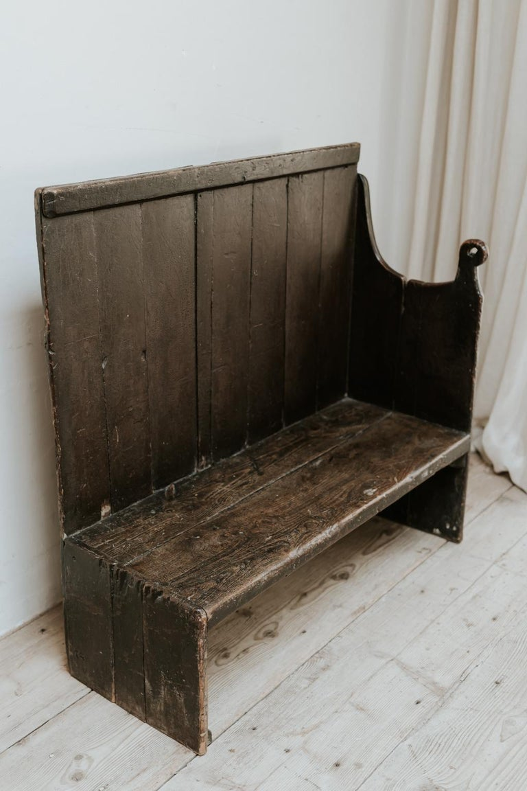 19th Century Wooden Bench, Wales, United Kingdom For Sale 2