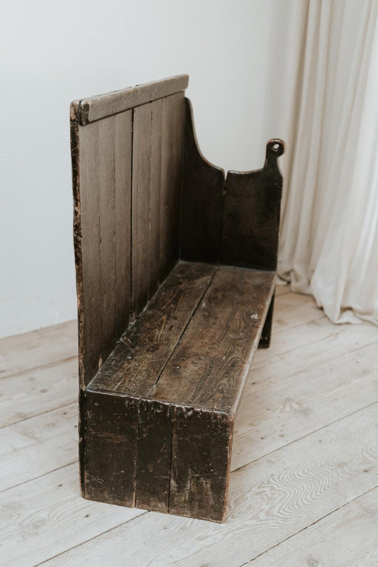 19th Century Wooden Bench, Wales, United Kingdom For Sale 4