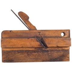 19th Century Wooden Carpentry Plane, circa 1850-1920