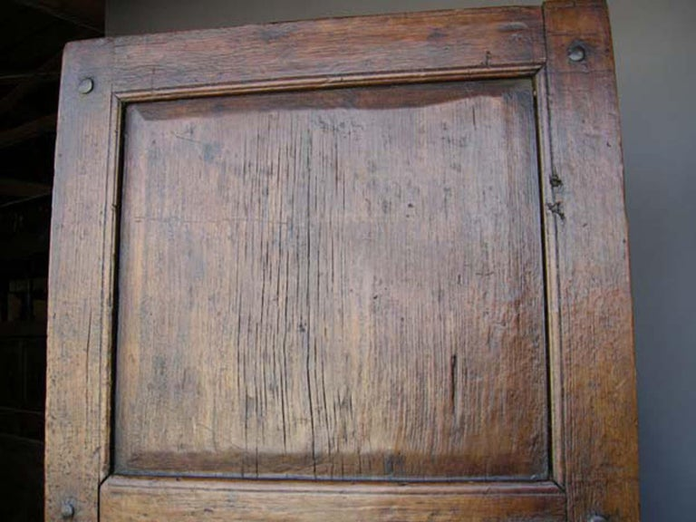 19th Century Wooden Door In Good Condition For Sale In Los Angeles, CA