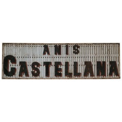 19th Century Wooden Publicty Sign
