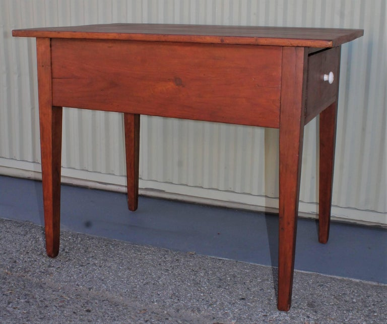 Other 19th Century Work Table with Original Red Painted Wash For Sale