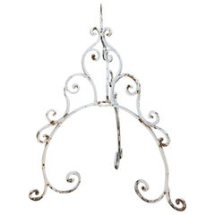 19th Century Wrought Iron Water Well Top