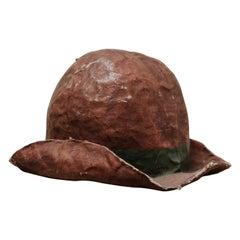 19th Century Extra Large Papier Mâché Hat