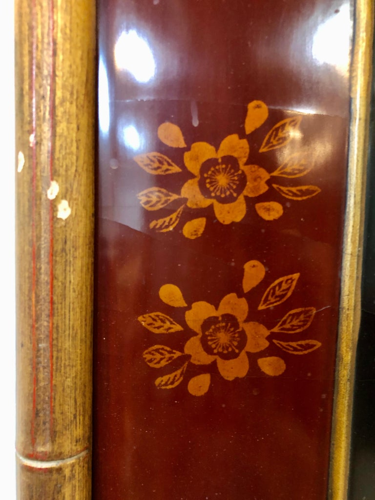 19th-Early 20th Century Chinese Lacquer Panel Wall Hanging For Sale 12