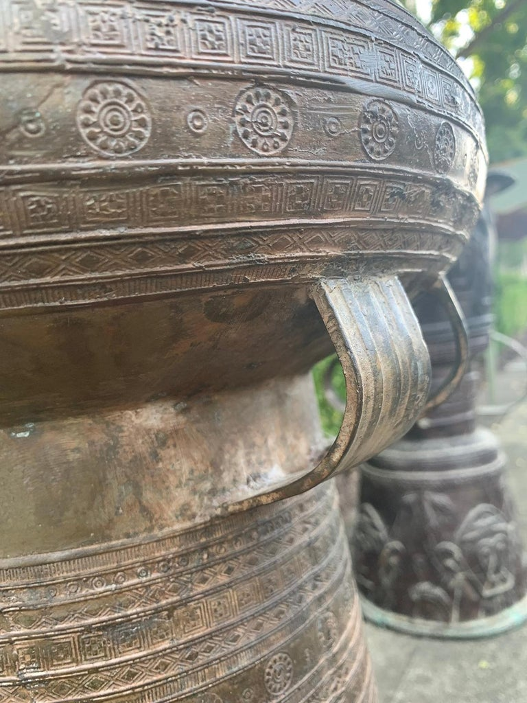 19th-Early 20th Century Metal Rain Drum For Sale 10