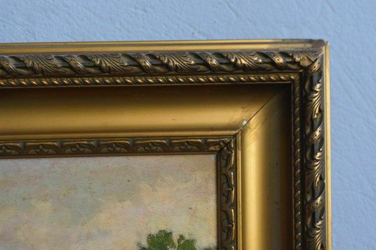 19th Oil On Canvas Landscape By Paul Huet For Sale 4