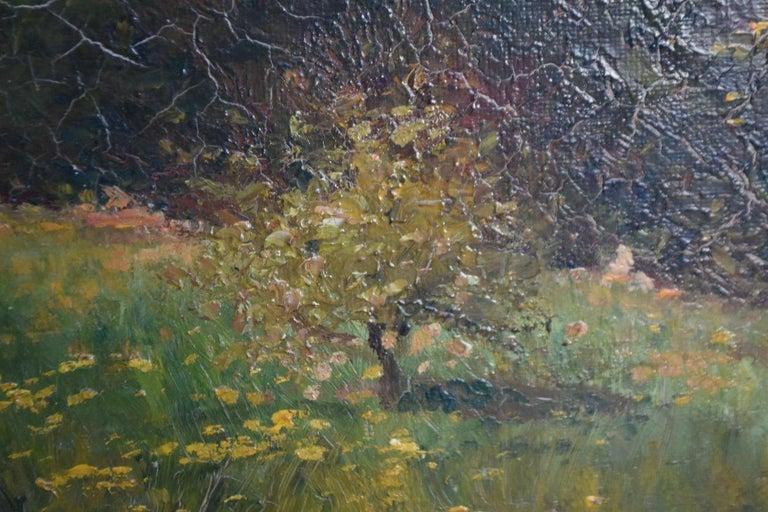 19th Oil On Canvas Landscape By Paul Huet For Sale 1
