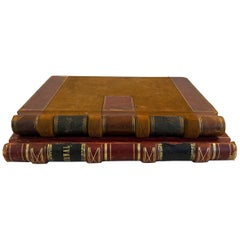 19th-Early 20th Century S.F Bay Area Leather Bound Business Journals
