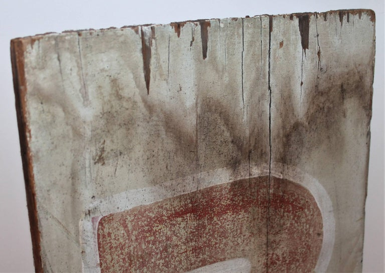 19th Century Bar Trade Sign in Original Paint For Sale 2