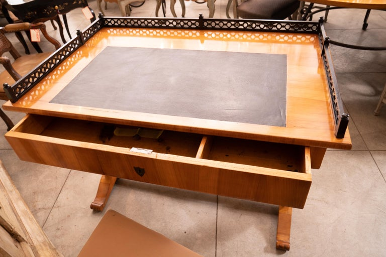 Mid-19th Century 19th Century Biedermeier Writing Table For Sale